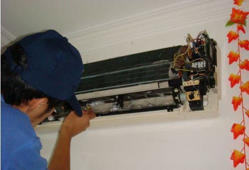 空调售后维修保养案例